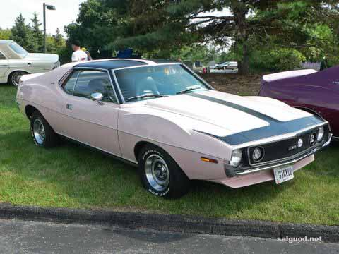 One of 2 pink AMX's made in '72 and the only one left.