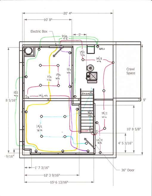 Wiring A Basement Diagram from www.salguod.net