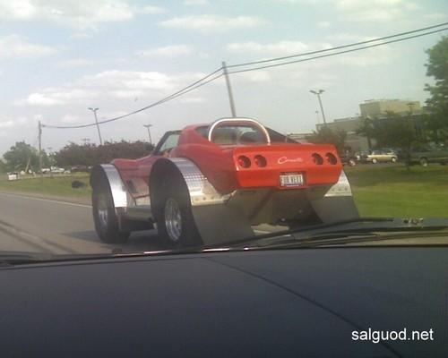 4WD Corvette